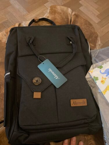 Alameda - Baby essentials backpack photo review