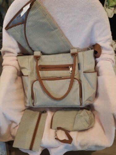 SoHo - Mum Handbag With 7 Piece Set photo review