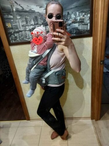 Sunveno 6 in 1 Ergonomic Baby Carrier | Grey photo review